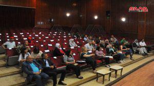 الروح الوطنية والقومية سمة مهرجان ملتقى القرداحة بثقافي المزة