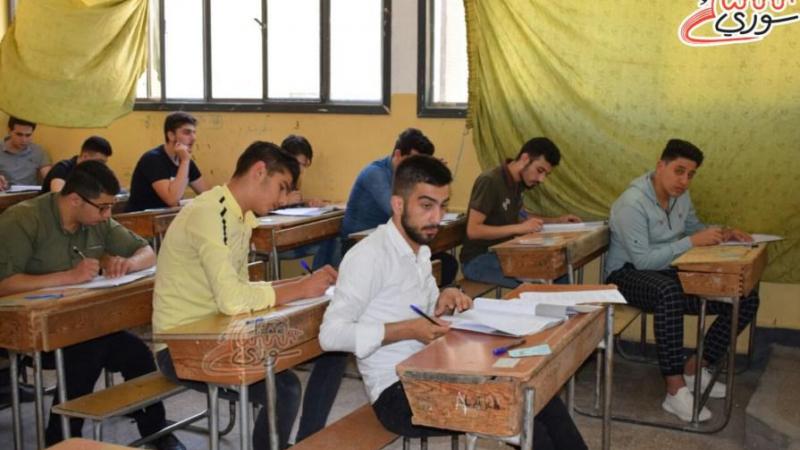 رغم العزل.. امتحانات الشهادة الثانوية في جديدة الفضل مستمرة
