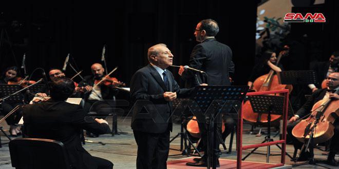 المطرب اللبناني القدير مروان محفوظ يبحر مع جمهور دار الأسد في رحلة لزمن الفن الجميل