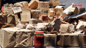 ضبط شاحنة محملة بمادة رب البندورة منتهية الصلاحية في ديرالزور