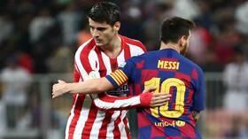 التشكيلة المتوقعة لقمة برشلونة وأتلتيكو مدريد