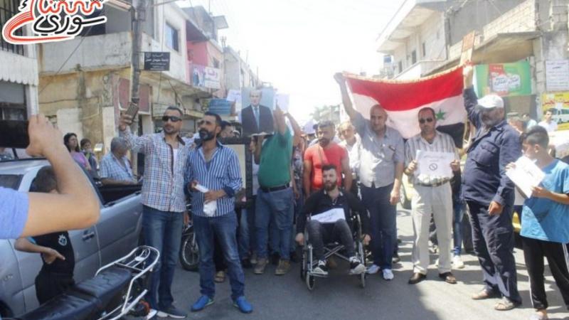 القدموس: وقفة احتجاجية رفضاً لتحويل مشفى المنطقة إلى مركز عزل