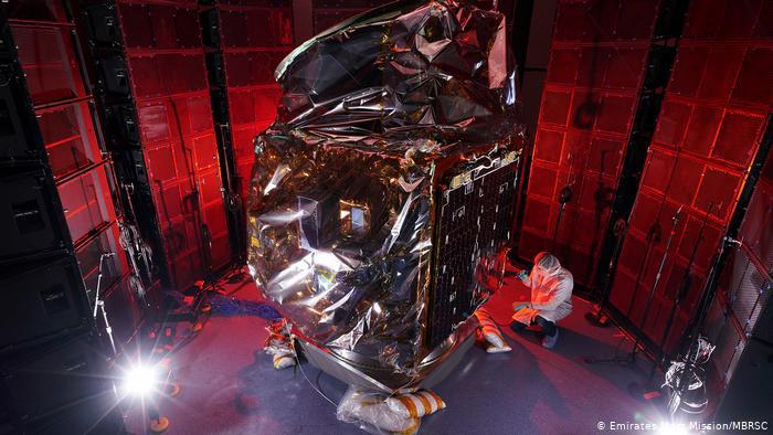 مسبار الأمل، سيكون أول مهمة لدولة عربية إلى المريخ