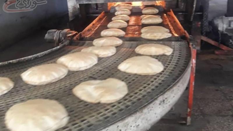 خبز الحكومة المدعوم بـ 600 ليرة في دمشق