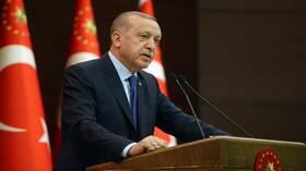 أردوغان: نتصرف بحكمة شرقي المتوسط رغم سلوك اليونان الصبياني