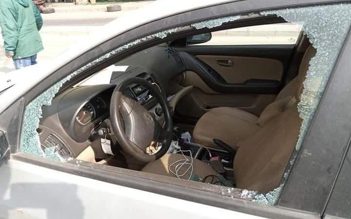 تكسير زجاج أكثر من 15 سيارة في منطقة دمر ليلاً