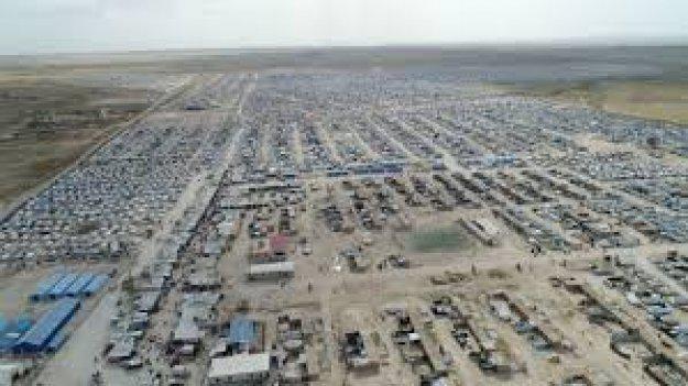 ريف الحسكة.. استشهاد رجل وامرأة في مخيم الهول