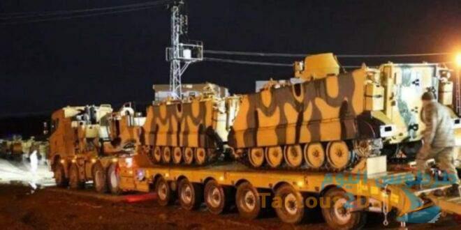 الاحتلال التركي ينسحب من نقطة مراقبة الصرمان في إدلب