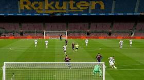 بغياب ميسي.. برشلونة يعجز عن فك شيفرة الفوز أمام إيبار (فيديو)