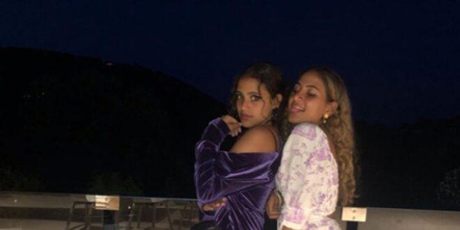 ابنتا عمرو دياب تتنافسان بالملابس الجريئة والفساتين القصيرة