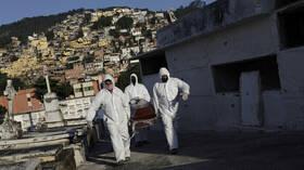 البرازيل تسجل أكثر من 8 ملايين إصابة بفيروس كورونا