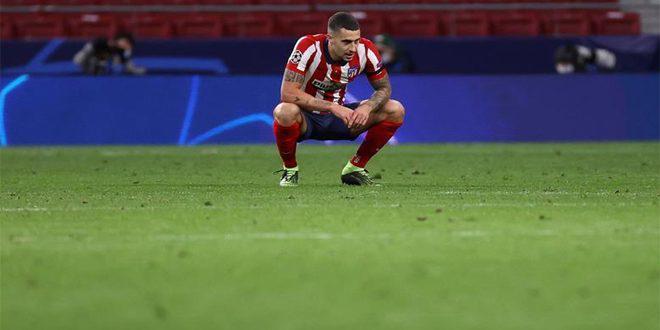 أتلتيكو مدريد يعلن إصابة مدافعه هيرموسو