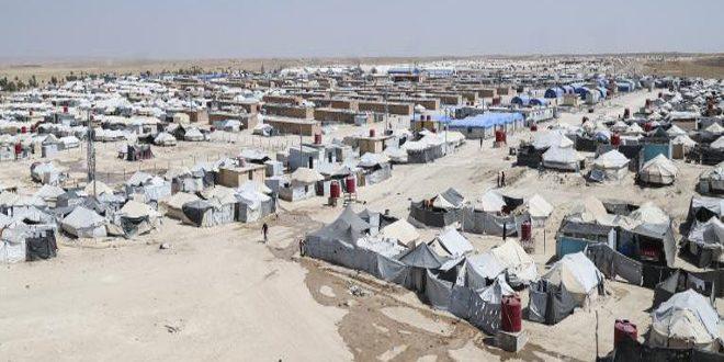 وفاة طفل في مخيم الهول الذي تسيطر عليه ميليشيا (قسد) بريف الحسكة