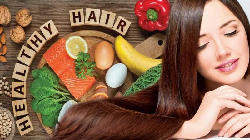 أفضل عشرة أطعمة للحفاظ على شعر صحي - العناصر الغذائية المقوية لتحسين صحة الشعر ومظهره - تقوية الشعر والحفاظ على مظهره ولمعانه