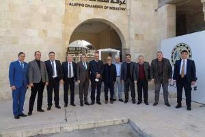 وفد اقتصادي ايراني في حلب لتعزيز مجالات التعاون