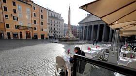إيطاليا تسجل 10630 إصابة و422 وفاة جديدة بكورونا