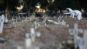 البرازيل تسجل نحو 60 ألف إصابة و1330 وفاة جديدة بفيروس كورونا