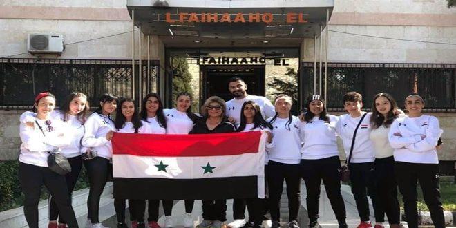 منتخب سورية يفوز على نظيره الإماراتي في البطولة العربية الأولى للركبي للسيدات