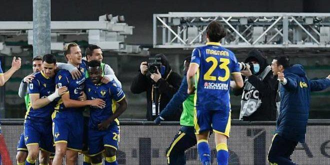 فيرونا يفرض التعادل على يوفنتوس في الدوري الإيطالي لكرة القدم