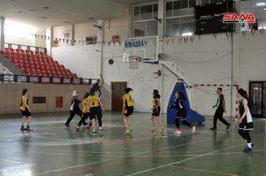 فوز بردى على العربي في دوري كرة السلة للسيدات