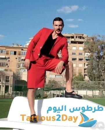باسل خياط في جلسة تصوير جديدة و اختلاف آراء المتابعين حول اطالته