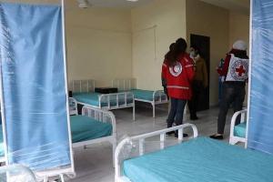 حلب: تأهيل مشفى ابن خلدون كمركز عزل لمئة مريض كورونا