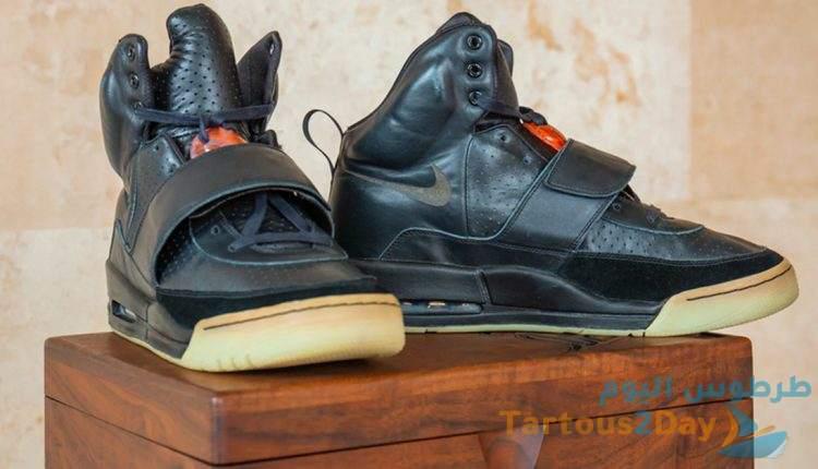 حذاء مغني الراب الامريكي كاني ويست يطيح بحذاء مايكل جوردان