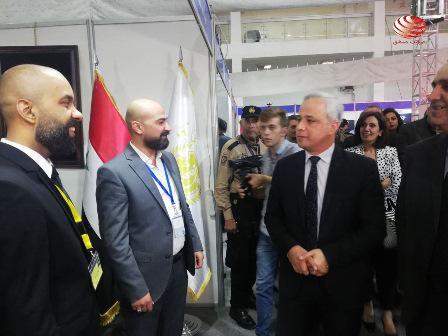 افتتاح معرض تكنوتكس على أرض مدينة المعارض بدمشق  2021-10-13
