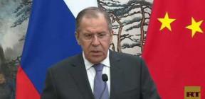 كلمة لوزير الخارجية الروسي سيرغي لافروف من بكين