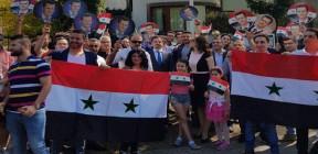 وقفات احتجاجية في عدد من الدول الأوروبية تنديدا بالعدوان الثلاثي على سورية