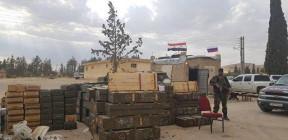 الجيش السوري يستلم أضخم ترسانة عسكرية من فصائل الريف الشرقي لدمشق (فيديو+صور)