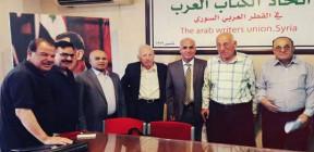 النهضة العربية ومواجهة التطرف في حوار بفرع الرقة لاتحاد الكتاب