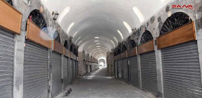 بدء المرحلة الثالثة من أعمال التأهيل والترميم للأسواق القديمة بحمص