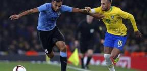 البرازيل تتغلب على الأوروغواي وديا (فيديو)