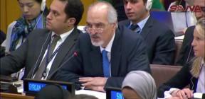الجعفري: السلطات السعودية ليست سوى واجهة صغيرة تتلطى وراءها الدول المشغلة لها والمعادية لسورية-فيديو