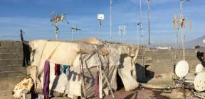 فوق تل منعزل.. مغربية في إسبانيا تقاسي بحثا عن حياة كريمة