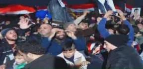 كيف تفاعل الجمهور السوري مع المباراة الحاسمة؟