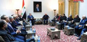 صباغ خلال لقائه وفدا أردنيا: تعزيز التعاون بين نقابات البلدين في مرحلة إعادة الإعمار