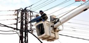 كهرباء السويداء: إصلاح أغلبية الأعطال الحاصلة جراء الأحوال الجوية