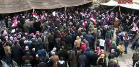 """الأهالي وشيوخ عشائر دير الزور: الإسراع بإعادة تشييد الجسور المدمرة بفعل إرهاب """"التحالف الدولي"""""""