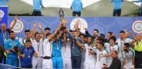 العراق يتوج بلقب بطولة الصداقة الودية (فيديو)