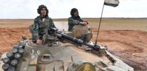 مدفعية الجيش تستهدف تحركات معادية للمسلحين شمال حماة