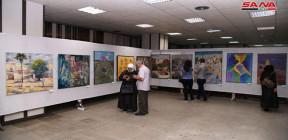 أجيال من الفن التشكيلي السوري المعاصر تحضر في معرض الكتاب