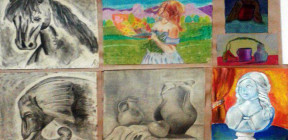 معرض فني لنتاجات الأطفال في جرمانا