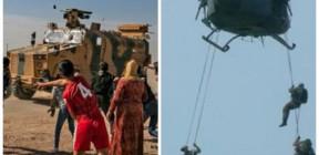 """إنزال جوي أمريكي في """"الحسكة"""" وسوريون يرفضون المساعدات التركية .. أبرز أحداث اليوم"""