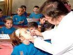 حملة لقاح مدرسية تشمل 85 ألف طالب في ريف حماة الشمالي الغربي
