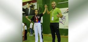 سيدرا عمران: حضور لافت برياضة الكيك بوكسينغ في اولى مشاركاتها