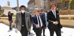 مصر.. فيروس كورونا يتسبب بمشهد محزن في جنازة الفنان جورج سيدهم