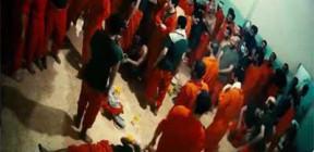 عصيان في سجن غويران بالحسكة الذي يضم إرهابيين من (داعش) وتسيطر عليه (قسد) وأنباء عن فرار عدد منهم