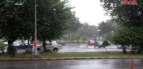 أمطار في معظم المحافظات أغزرها 118 مم في صلنفة باللاذقية